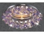 Точечный встраиваемый светильник Novotech 369404 Corona (модерн, хром)