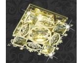 Точечный встраиваемый светильник Novotech 369501 Aurora (модерн, золото)