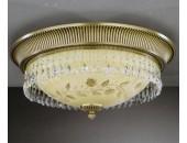 Светильник потолочный Reccagni Angelo PL 6306/4 (классический, золото)