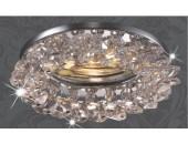 Точечный встраиваемый светильник Novotech 369401 Corona (модерн, хром)
