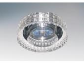 Точечный встраиваемый светильник Lightstar 006350 Lei Faceto Cr (модерн, прозрачный)
