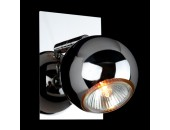 Светильник спот Евросвет/Eurosvet 23102/1 (хай-тек, хром)