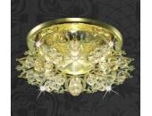 Точечный встраиваемый светильник Novotech 369497 Aurora (модерн, золото)