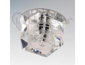 Точечный встраиваемый светильник Lightstar 004064 (модерн, хром)