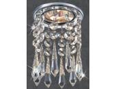 Точечный встраиваемый светильник Novotech 369797 Ritz (модерн, хром)