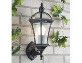 Уличный настенный светильник Elektrostandard Capella (классический, черный)