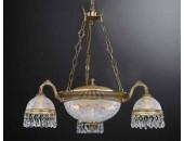 Люстра подвесная Reccagni Angelo L 6300/3+3 (классический, золото)