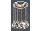 Точечный встраиваемый светильник Novotech 369787 Ritz (модерн, хром)