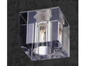 Точечный встраиваемый светильник Novotech 369276 Cubic (модерн, хром)