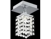 Точечный накладной светильник Eglo 90118 Bantry (хай-тек, хром)