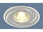 Точечный встраиваемый светильник Elektrostandard 2002 SL/HL (модерн, графит-серебро)