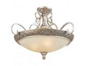 Люстра подвесная Chiaro 254011004 Версаче (классический, серебряный)