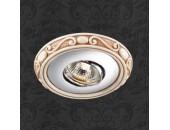 Точечный встраиваемый светильник Novotech 369728 Ceramic (модерн, хром)