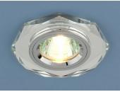 Точечный встраиваемый светильник Elektrostandard 8020 SL (модерн, зеркальный-серебро)