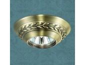 Точечный встраиваемый светильник Novotech 369664 Branch (модерн, бронза)