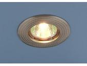Точечный встраиваемый светильник Elektrostandard 601 SN (модерн, никель)