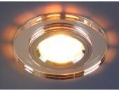 Точечный встраиваемый светильник Elektrostandard 8060 SL/CH (модерн, серебряный-хром)