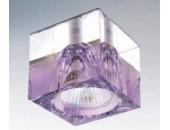 Точечный встраиваемый светильник Lightstar 004149 Meta Qube Cr-Violet (модерн, сиреневый)