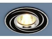 Точечный встраиваемый светильник Elektrostandard 2002 BK (модерн, черный)