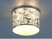 Точечный встраиваемый светильник Elektrostandard 8402 CH/WH (модерн, хром-белый)