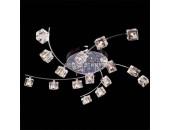 Люстра галогенная Евросвет/Eurosvet 4976/16 (модерн, хром)