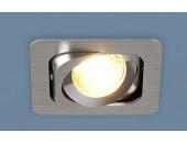 Точечный встраиваемый светильник Elektrostandard 1021/1 CH (модерн, хром)