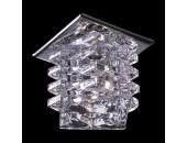 Точечный встраиваемый светильник Novotech 369375 Crystal (модерн, хром)