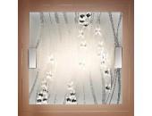 Светильник настенно-потолочный Sonex/Сонекс 1227 Kadia (модерн, хром)