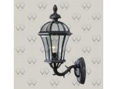 Уличный настенный светильник  DeMarkt 811020101 Сандра (классический, черный)