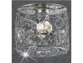 Точечный встраиваемый светильник Novotech 369455Lace (модерн, хром)