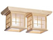 Люстра потолочная Svetresurs/Светресурс 592-717-02 (японский стиль, дерево)