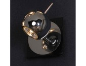 Светильник спот Lussole LSN-4601-01 Ticino (хай-тек, хром)