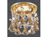 Точечный встраиваемый светильник Novotech 369792 Ritz (модерн, золото)