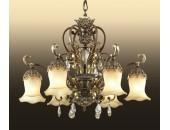 Люстра подвесная Odeon Light 2802/6 (классический, золото)