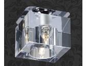Точечный встраиваемый светильник Novotech 369298 Cubic (модерн, хром)