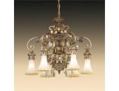 Люстра подвесная Odeon Light 2431/6 Ponga (кантри, бронза)