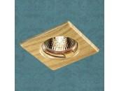 Точечный встраиваемый светильник Novotech 369716 Wood (модерн, дерево)