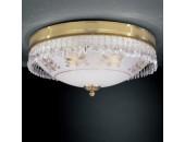 Светильник потолочный PL 6100/4 (классический, золото)