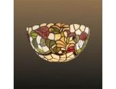 Бра Odeon Light 2268/1W Flora (тиффани, коричневый)