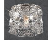 Точечный встраиваемый светильник Novotech 369601 Lace (модерн, хром)