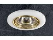 Точечный встраиваемый светильник Novotech 369278 Stone (модерн, золото)