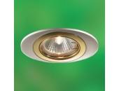 Точечный встраиваемый светильник Novotech 369301 Iris (модерн, хром)