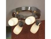 Светильник спот Lussole LSQ-2601-04 Scalera (хай-тек, никель)