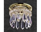 Точечный встраиваемый светильник Novotech 369331 Drop (модерн, золото)