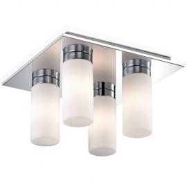 Светильник потолочный влагозащищенный Odeon Light 2661/4C TINGI (модерн, хром)