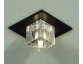 Светильник точечный встраиваемый Lussole LSF-1300-01 Notte di Luna (модерн, хром)