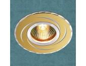 Точечный встраиваемый светильник Novotech 369769 Voodoo (модерн, золото)
