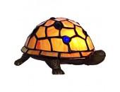 Настольная лампа черепаха Snowlight 13-760-01T (тиффани, бронза)