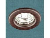 Точечный встраиваемый светильник Novotech 369715 Wood (модерн, дерево)
