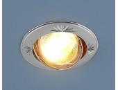 Точечный встраиваемый светильник Elektrostandard 104A CF PS/N (модерн, серебро-никельй)
